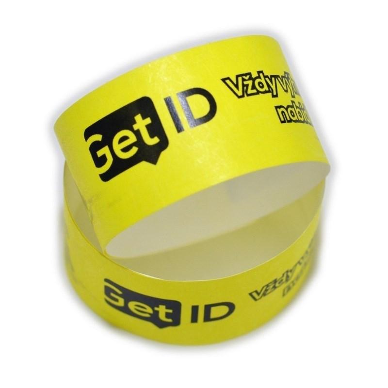 cd1970478 ID náramok Tyvek® 25 mm s potlačou   GetID - Vždy výhodnejšia ponuka!