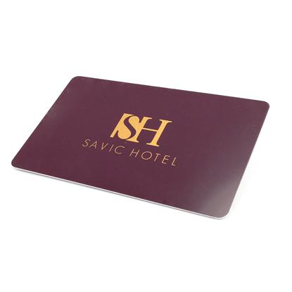 Plastová karta s potiskem a RFID čipem