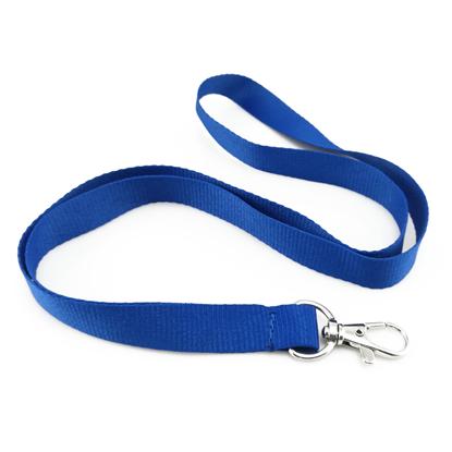 Šňůrka pevný textil - modrá