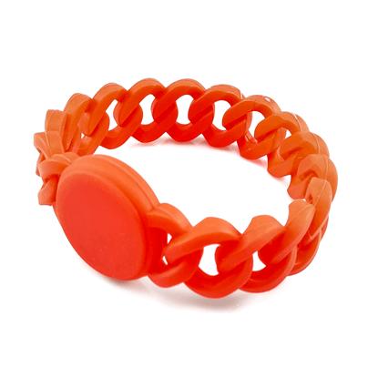 RFID Silikonový náramek řetěz