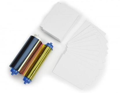 Zebra Barevná Páska YMCKO 400 Tisků, Media Kit (105999-10L)