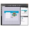 Zebra CardStudio 2.0 ukázka prostředí
