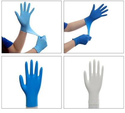 Nitrilové rukavice (balení 100 ks)