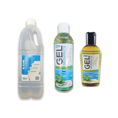Obrázok pre kategóriu Dezinfekční gely a čističe